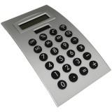 Calculadora com visor inclinável