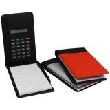 Bloco de anotações com Calculadora 13,5x8cm